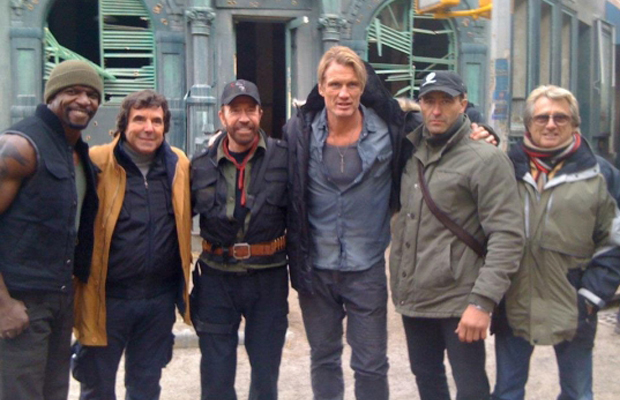 The Expendables 2 Chuck Norris