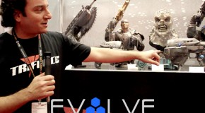 EvolveTV: TriForce Shows Gears of War 3, Mass Effect 3, & Warhammer Replicas AT NYCC 2011