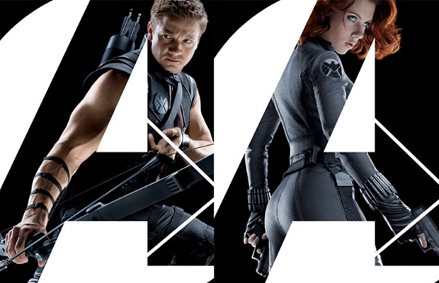 The Avengers Posters Hawkeye and Black Widow
