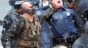 Bane Brings Anarchy to Gotham Streets in New 'The Dark Knight Rises' Set Photos & Videos