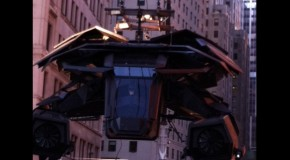 Rumor: BatCopter In 'The Dark Knight Rises', On-Set Pic Surfaces Online