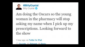 This Just In: Billy Crystal Tweets He's Hosting The Oscars