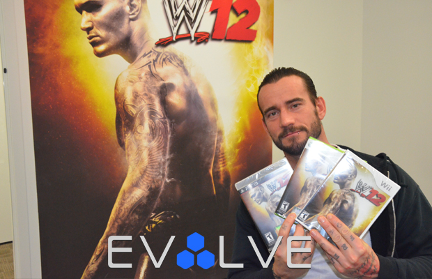 CM Punk WWE '12 Video Game
