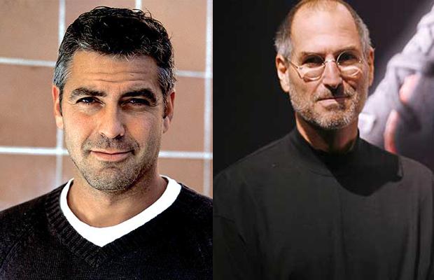 George Clooney Steve Jobs