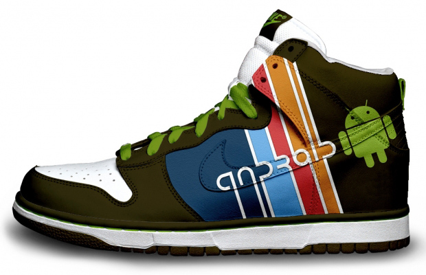 Google Android Nike Sneakers