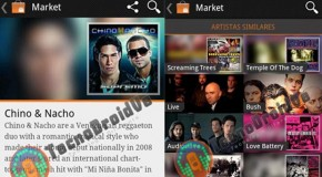 Screenshots of the Android-Based Online Music Store Google Music Hit The Net