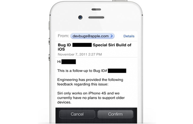 iPhone 4S Siri not on other iPhone models