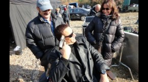 Van Damme Plays With Guns On 'The Expendables 2' Set, Stallone Confirms Fight