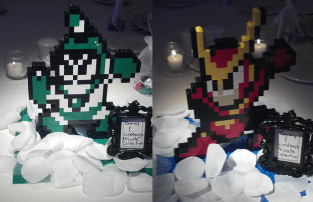 Mega Man 2 Robots Lego Creations