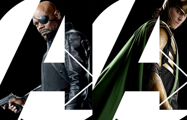 The Avengers Posters Nick Fury and Loki