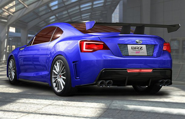 Subaru BRZ Concept Back End