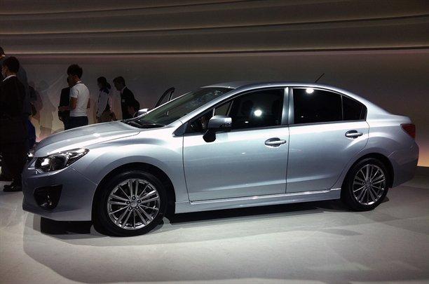 subaru impreza g4 tokyo auto show