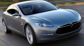Video: Tesla Model S Electric Car Hits The Road