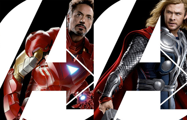 The Avengers Posters Iron Man and Thor