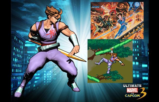 ultimate marvel vs. capcom 3 classic strider