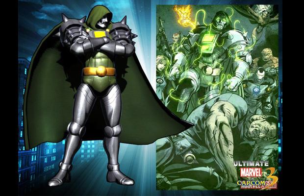 ultimate marvel vs capcom 3 dr doom skin
