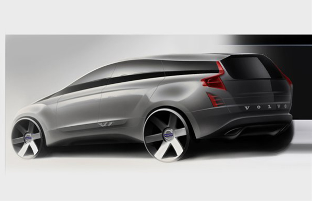 volvo previews next gen electric hybrid xc90 suv. Black Bedroom Furniture Sets. Home Design Ideas