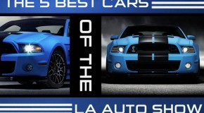 The 5 Best Cars From The LA Auto Show 2011