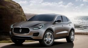 2012 Maserati Kubang Speeding Into Detroit Auto Show