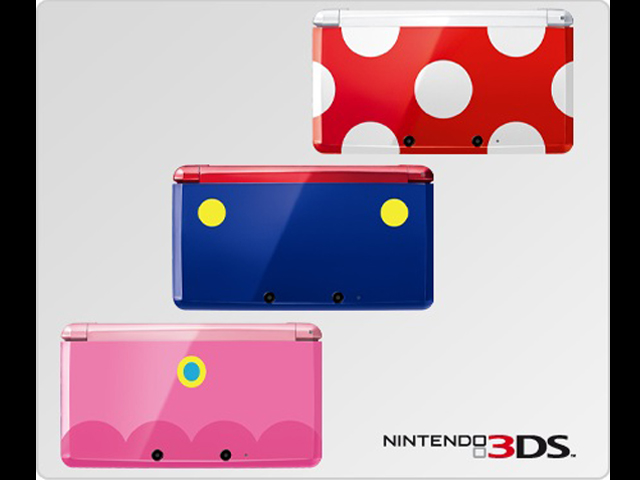 Mario, Peach, and Toad Nintendo 3DS Europe