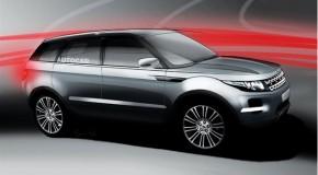 Bigger Range Rover Evoque Planned For 2015
