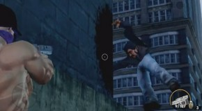 Hilarious Saints Row: The Third Glitch Leaves Deformed Pedestrian Stuck In Mid-Air