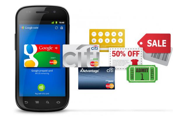 Samsung Galaxy nexus Google Wallet