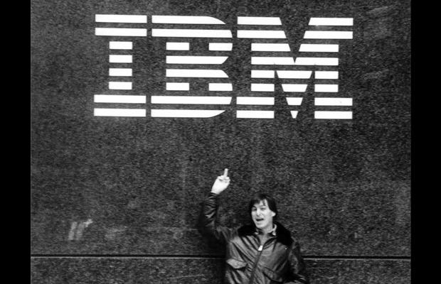 Steve Jobs Middle Finger