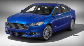 Detroit Auto Show: 2013 Ford Fusion Hybrid Unveiled