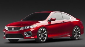 Detroit Auto Show: 2013 Honda Accord Coupe Concept