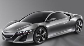 Detroit Auto Show: Honda NSX Supercar