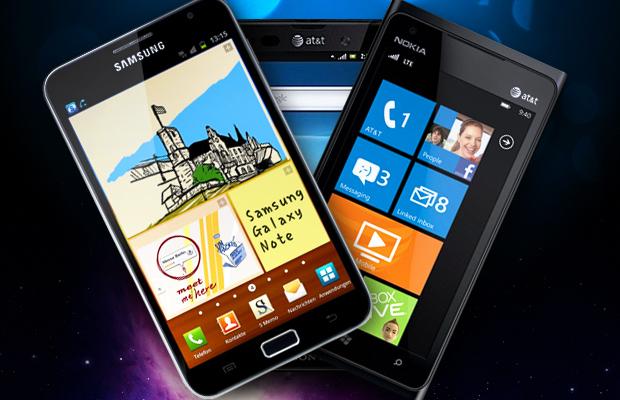 Best Smartphones of CES 2012