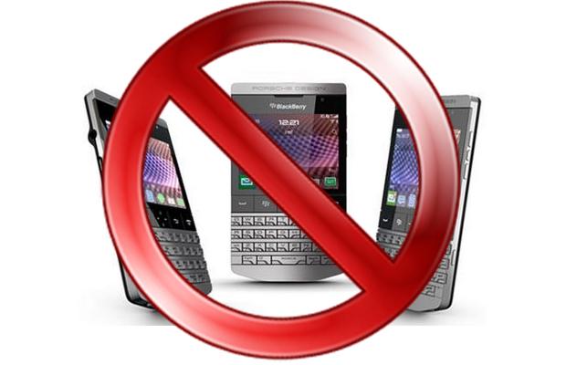 BlackBerry 10 Phones Cancelled