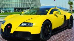 """Bumblebee"" Bugatti Veyron 16.4 Grand Sport Debuting At Qatar Motor Show"