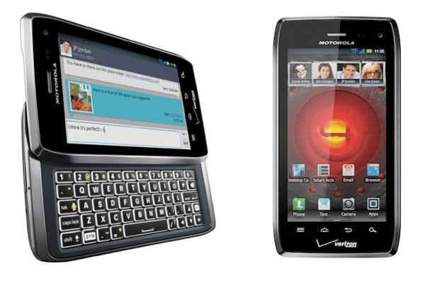 Motorola Droid 4 CES 2012