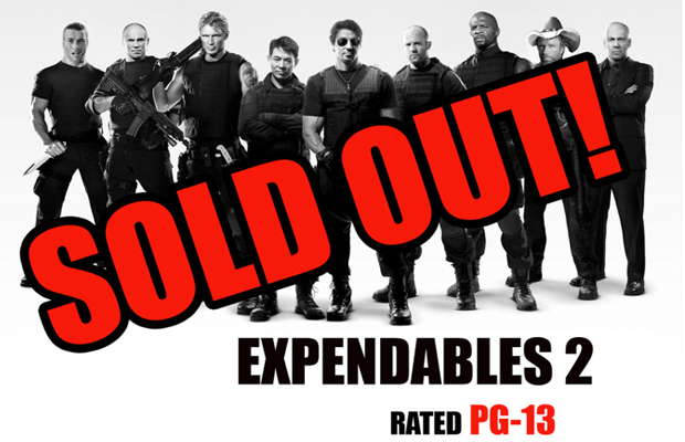 Expendables 2 PG-13 Petition
