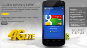 CES 2012: Sprint Announces LTE Galaxy Nexus With Google Wallet Support