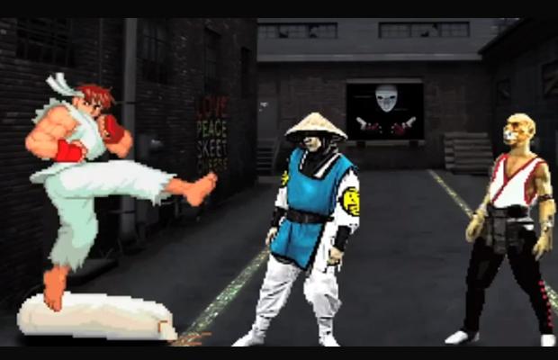 Ghetto Street fighter vs Mortal Kombat Spoof
