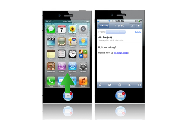 iPhone 5 Concept Home Touch Button