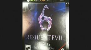 IGN Reports 'Resident Evil 6' Due November 2012