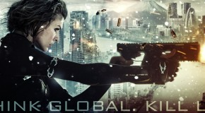 "Resident Evil Retribution Poster & Artwork Warn You To ""Think Global"""