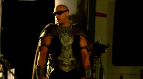 Vin Diesel Shares On-Set 'Riddick' Photo On Facebook