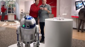 LG Spectrum Commercial Features Odd R2-D2 Cameo