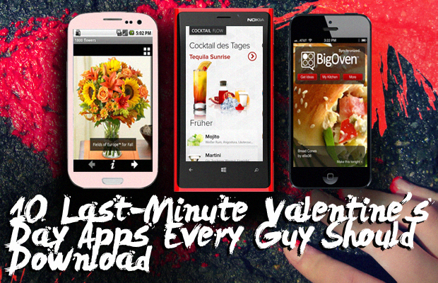10 Last-Minute Valentines Day Apps Every Guy Should Download