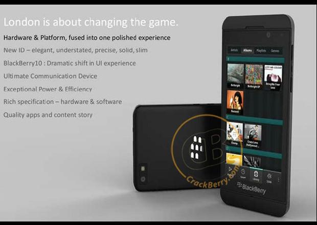 BlackBerry 10 London Concept