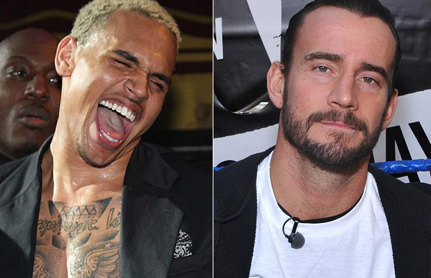 CM Punk vs Chris Brown