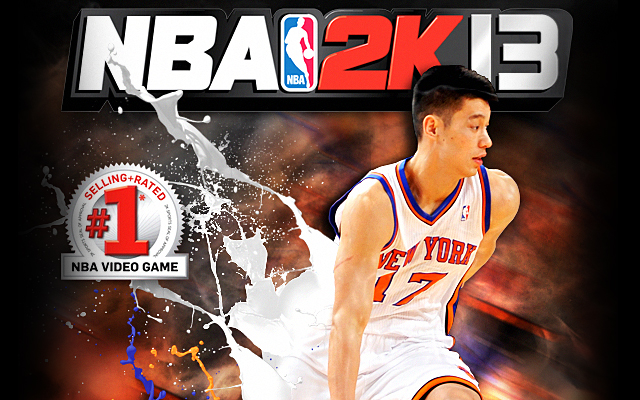Jeremy Lin NBA 2K13 Covers