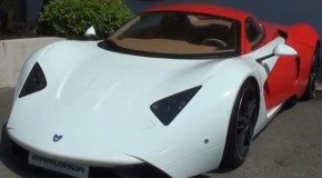 Marussia B1 Russian Supercar Speeds Into Monaco