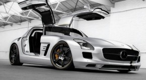 Wheelsandmore Tuned Mercedes SLS AMG Silver Wing