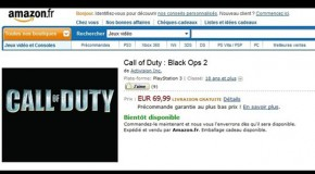 Black Ops 2 Listed On Amazon France